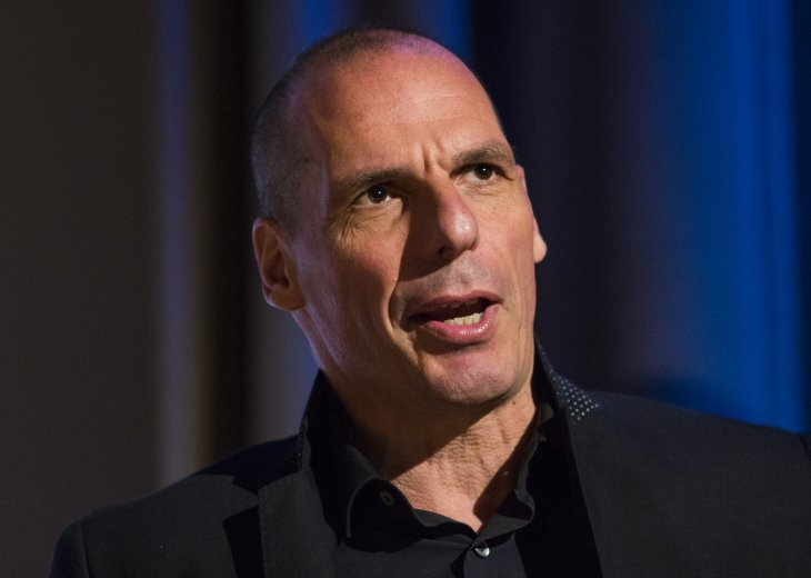 Yanis Varoufakis speaking