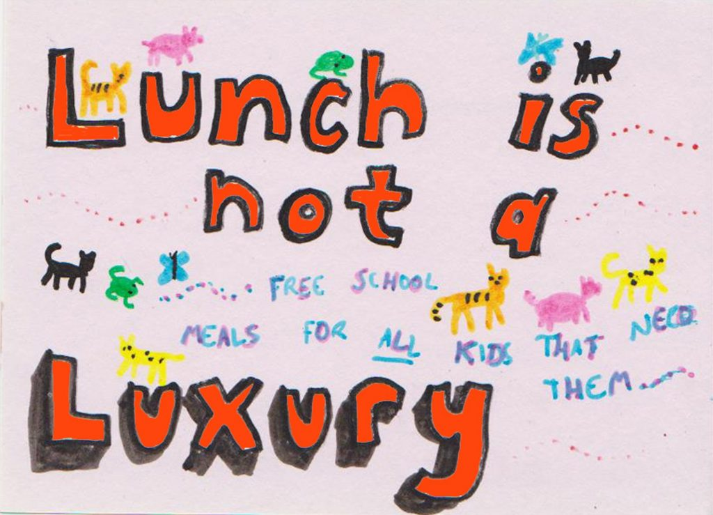 """Lunch is not a Luxury"""